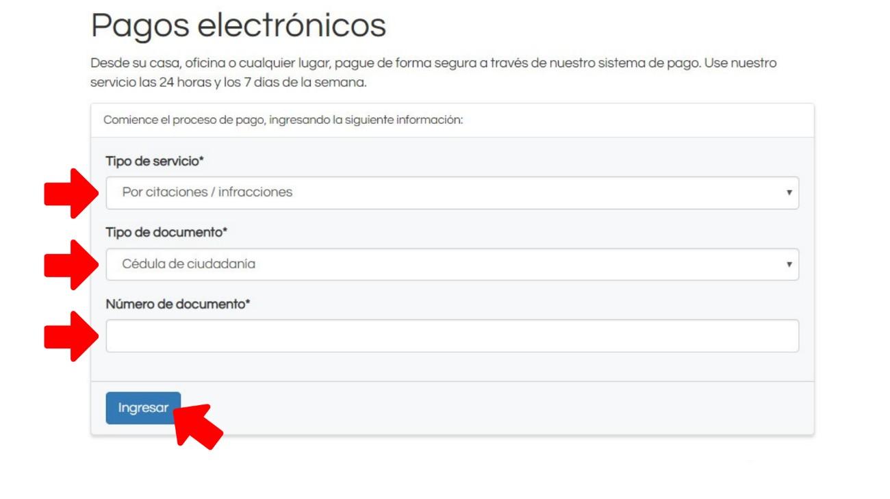 Pagos electrónicos