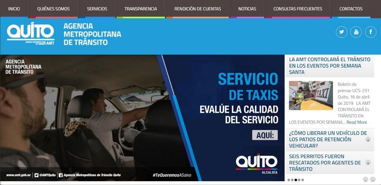 Pasos para consultar las multas ANT en Quito, Ecuador
